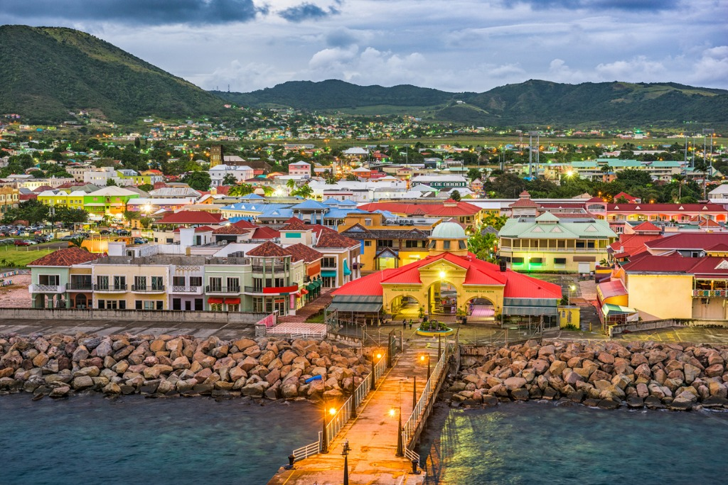 Saint-Kitts-and-Nevis, world's smallest countries by population