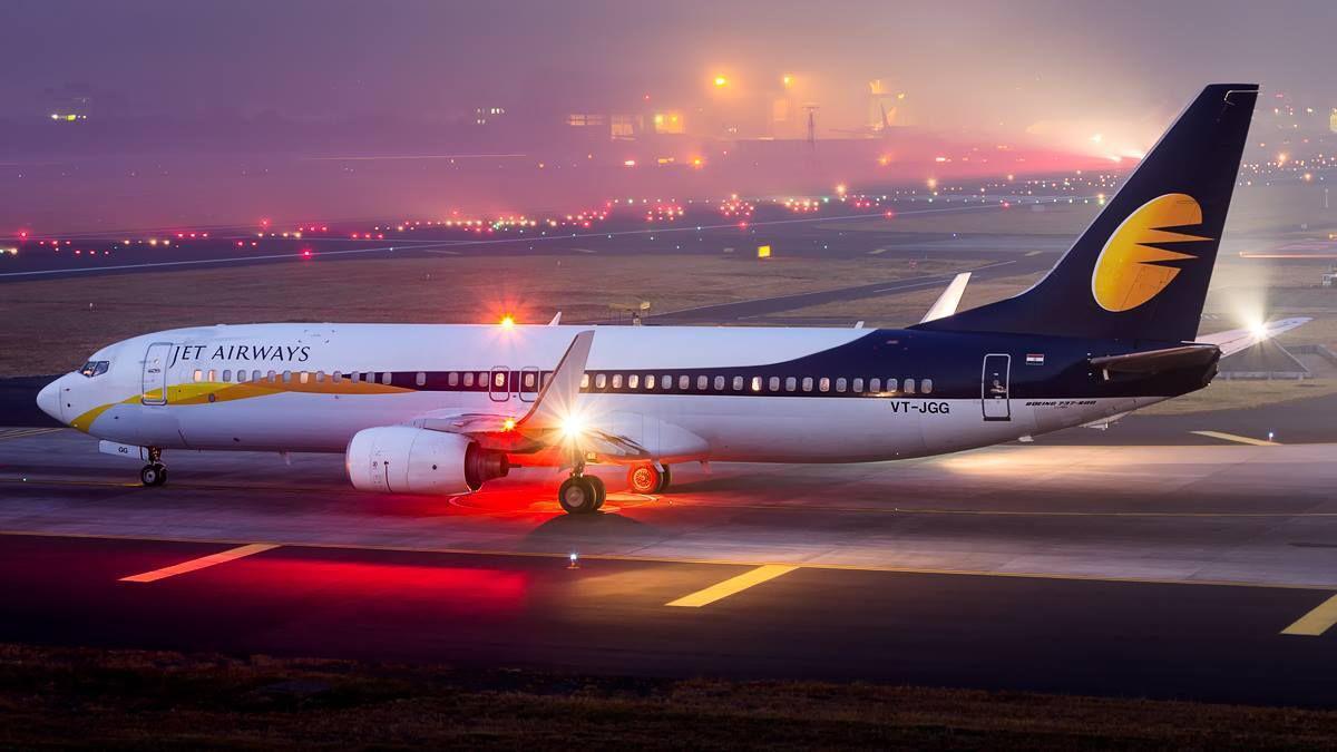 Jet Airways at the Mumbai airport - rise in flight prices