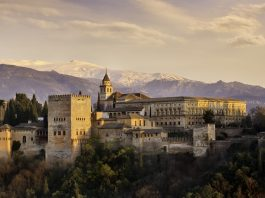 The Alhambra in Granada southern of Spain travel tips
