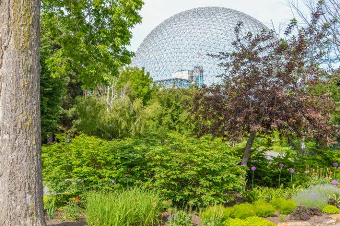 Biosphre Metal Park in Parc Jean Drapeau