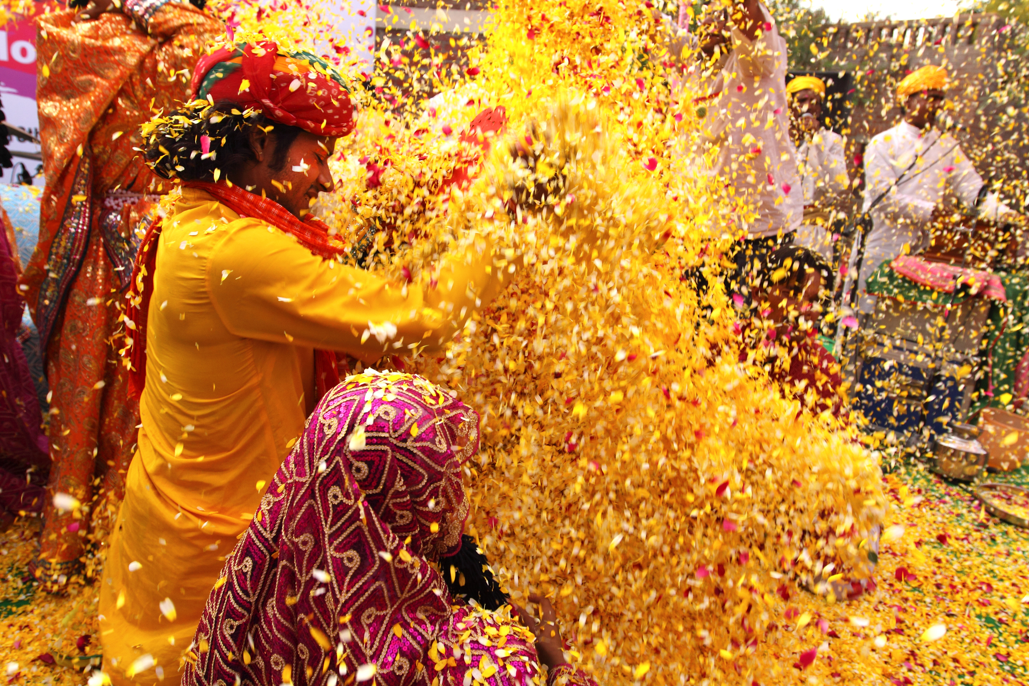 Phoolon vali Holi OR The Flowers Holi.