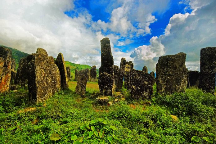 Monoliths at Willong Khullen, Manipur