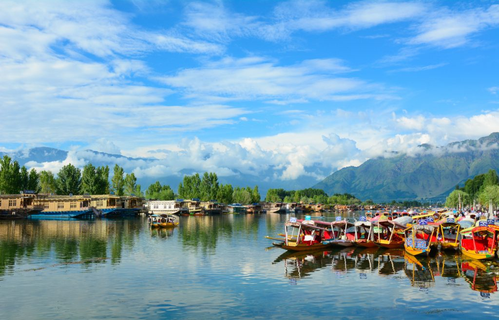 the most beautiful cities in india, Dal Lake