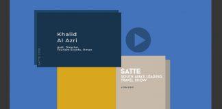 SATTE 2019- Khalid Al Azri