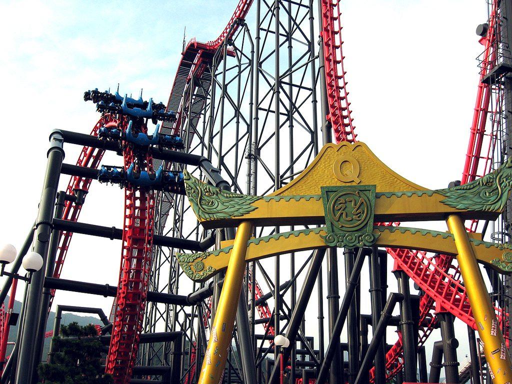 Eejanaika coaster FujiQ