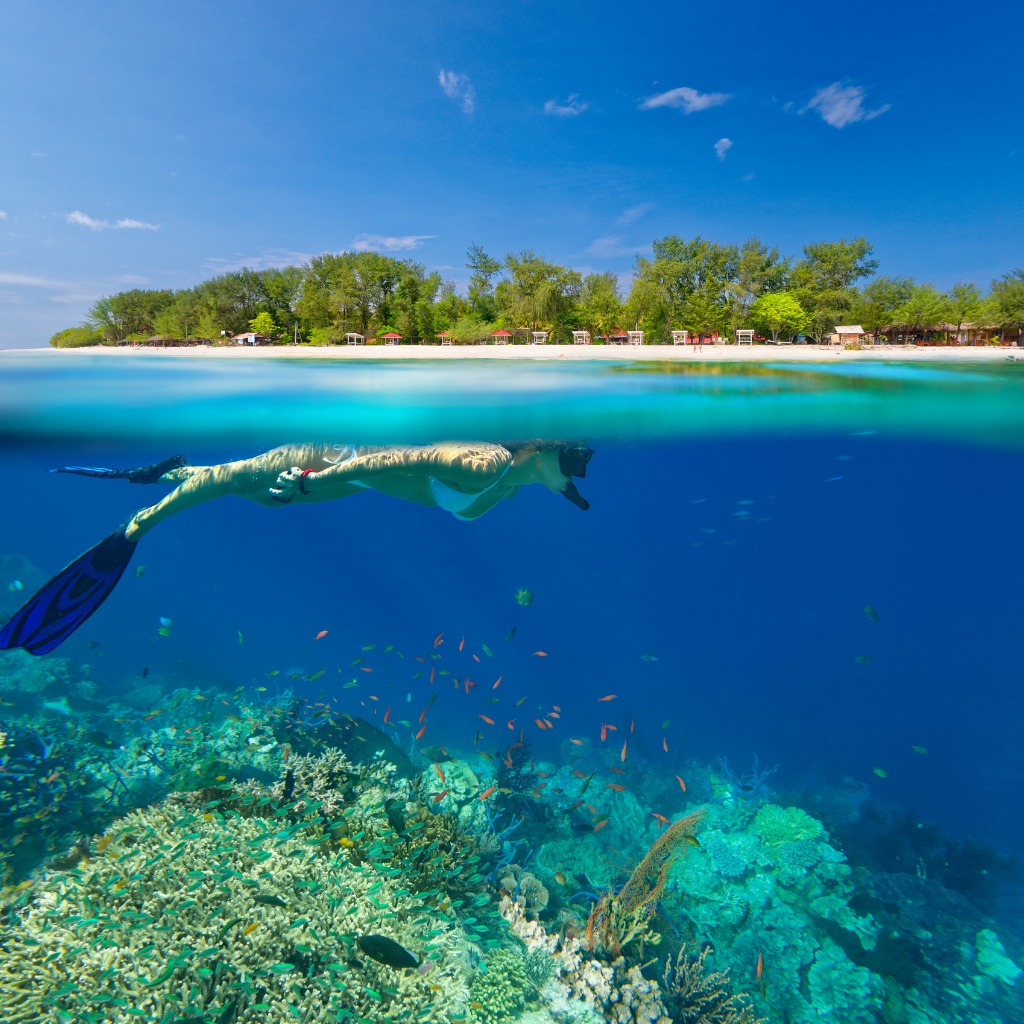 Gili-Islands-Lombok-Indonesia, largest islands in the world