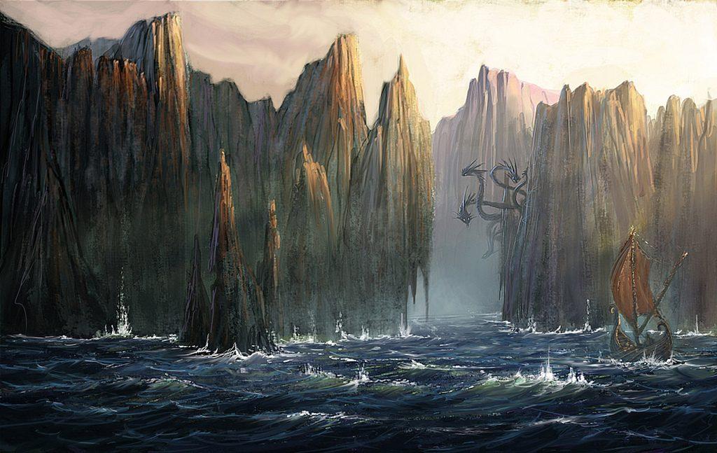 Between Scylla and Charybdis Odyssey