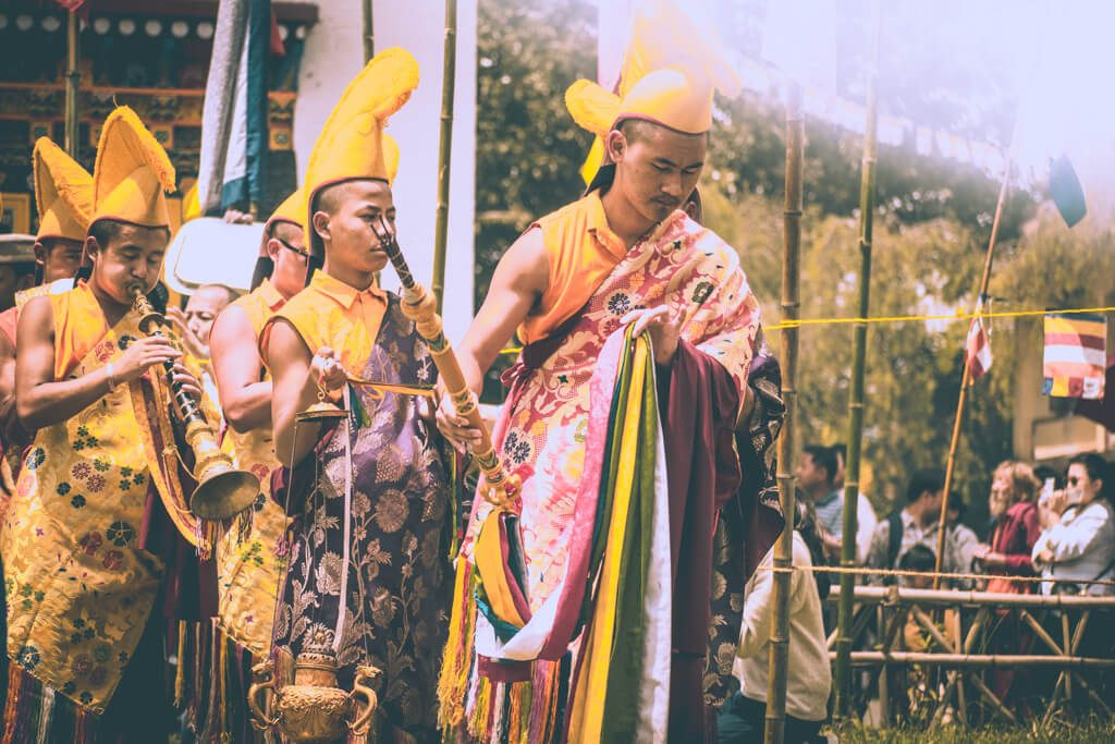 Pang Lhabsol festival in Sikkim