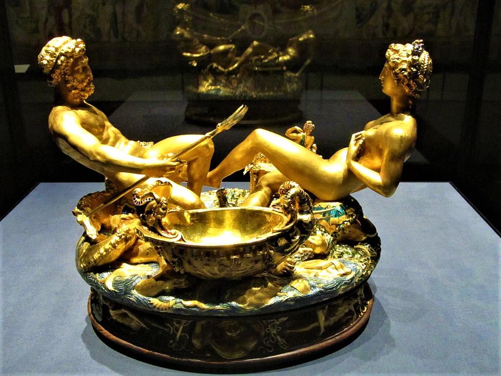 Cellini Salt Cellar Precious Treasures
