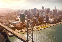San Francisco and the Oakland Bay Bridge. California travel tips