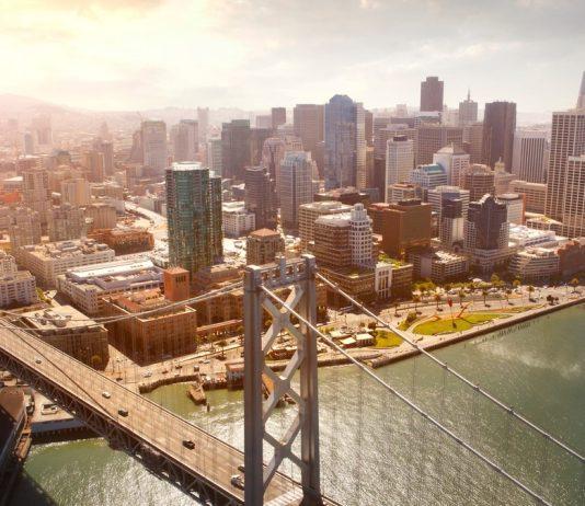 San Francisco and the Oakland Bay Bridge. California travel tips