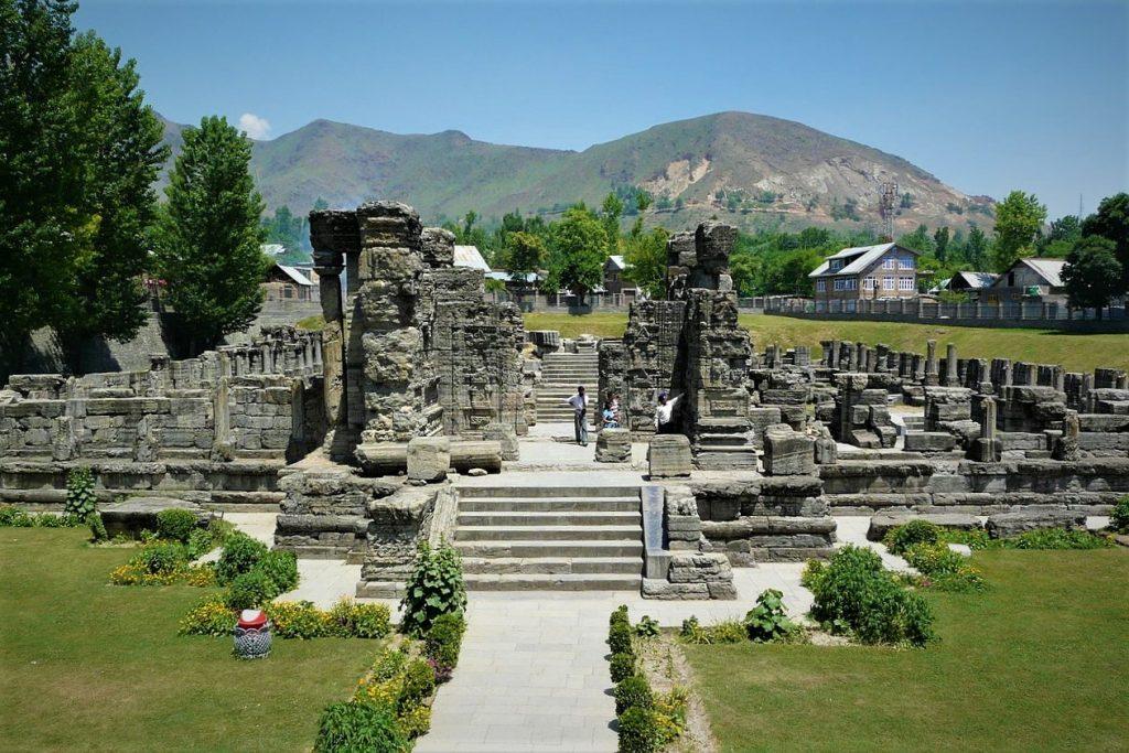 Avantiswami Temple Srinagar