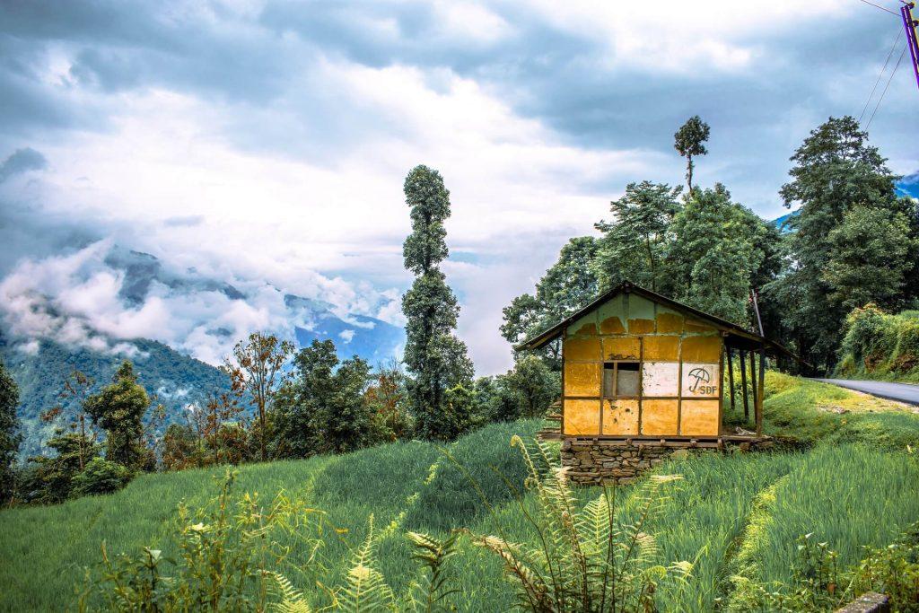 En route to Dzongu