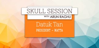 skull session interview card - Datuk Tan, MATTA