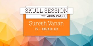 Skull Session interview card - Suresh Vanan, Malindo Air