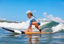 Surfing in bali with kids, Surfing Destinations