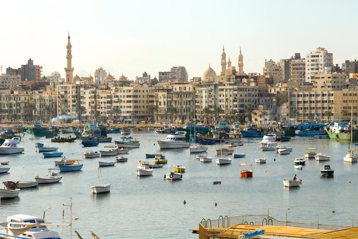Alexandria. Egypt