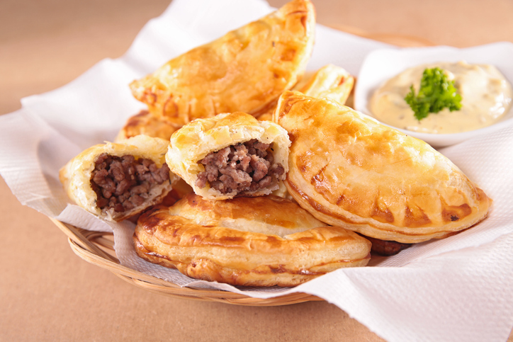 empanada with beef