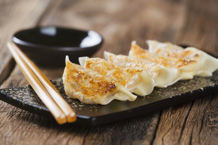 Japanese Food Gyoza dumplings around the world