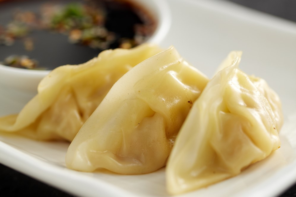Steamed dumplings around the world