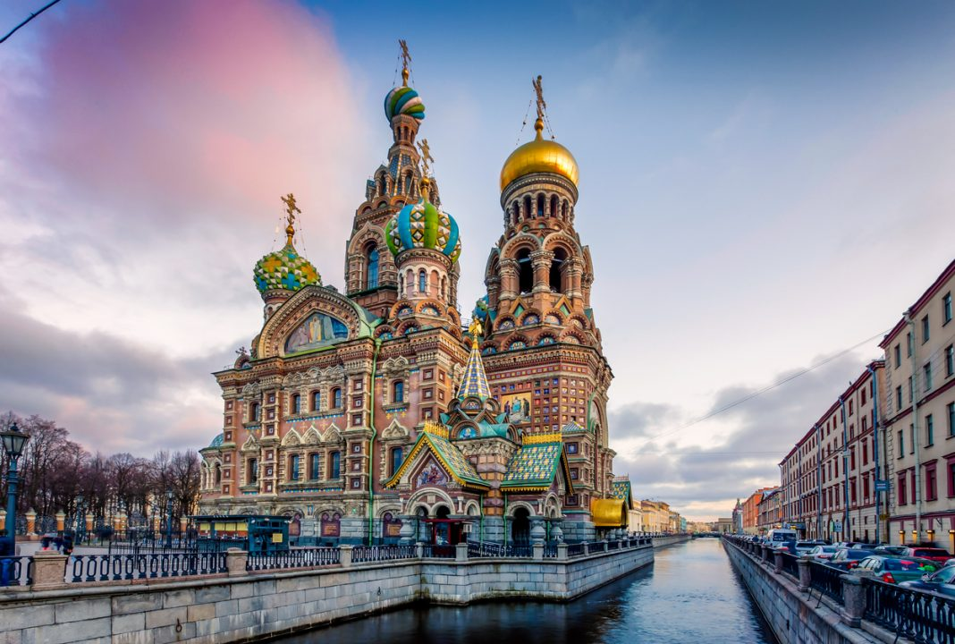 The Church of the Savior on Spilled Blood, St Petersburg