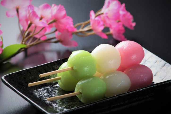Japanese Spring Dango