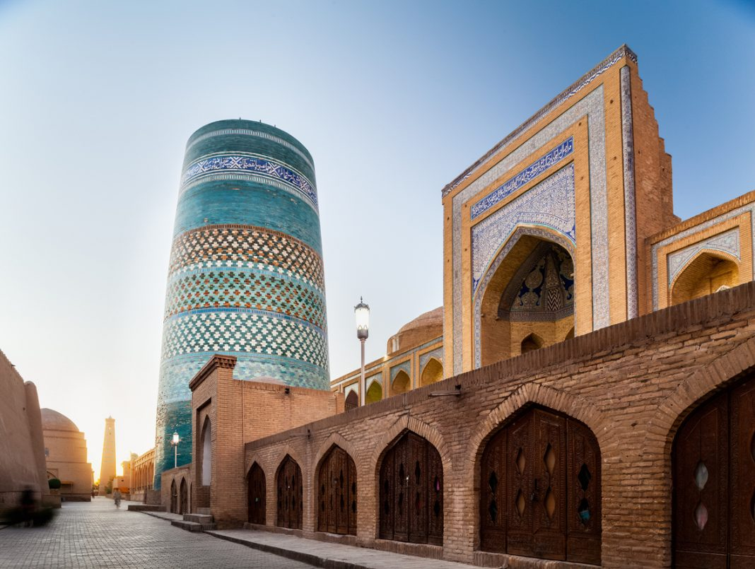 Khiva, in Uzbekistan.