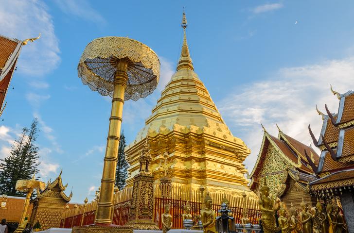visit chiang mai Wat Phra That Doi Suthep