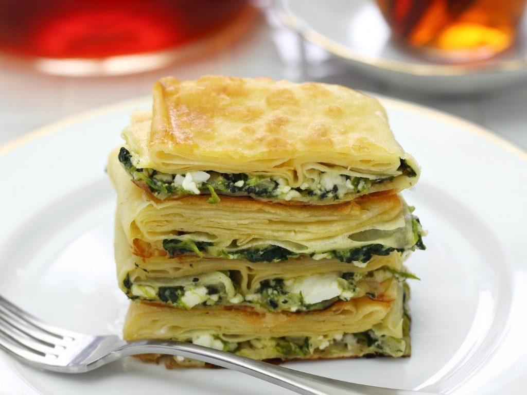 homemade-su-borek-turkish-pie-feta-cheese-and-parsley