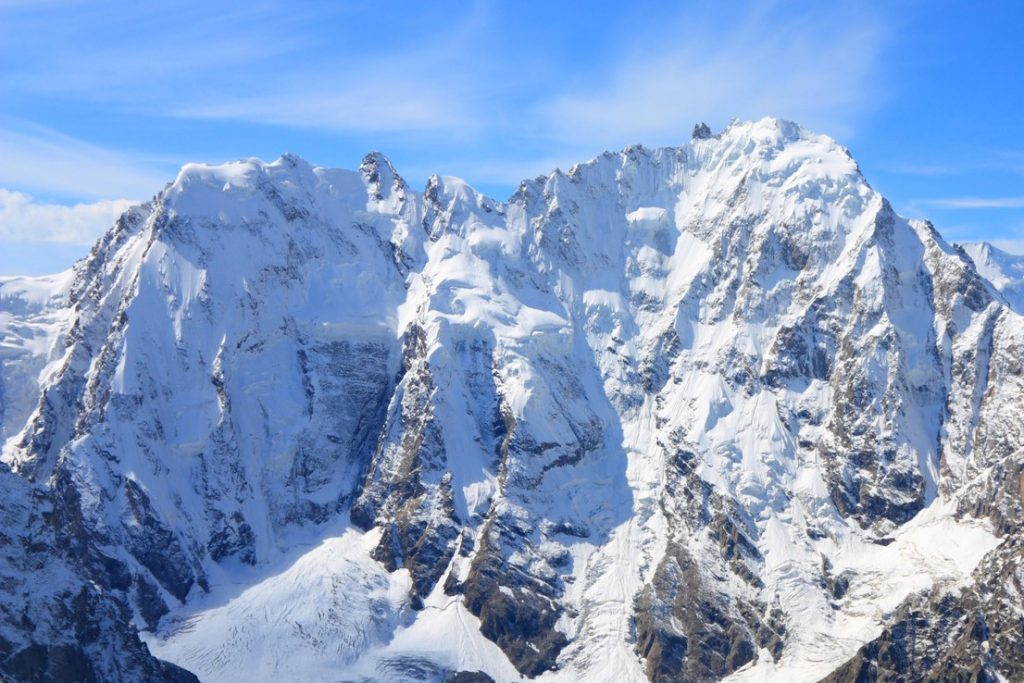 Mount Dykh-Tau, highest mountains in Europe