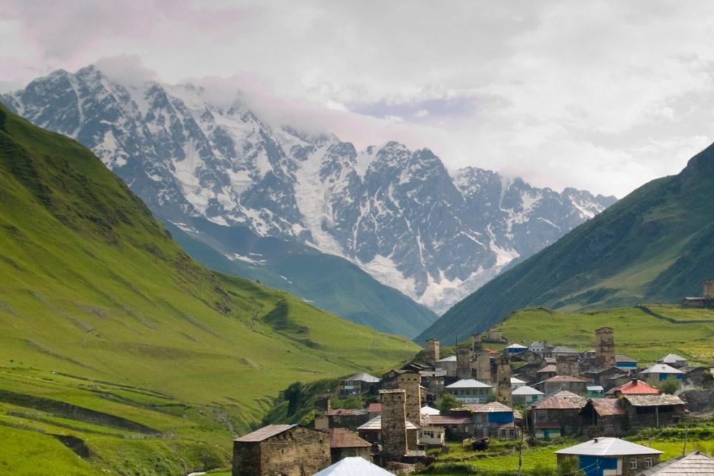 Shkhara mountains, Georgia
