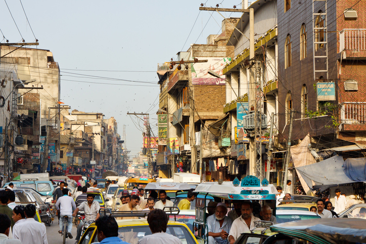 Raja Bazaar in Rawalpindi, Pakistan tourism