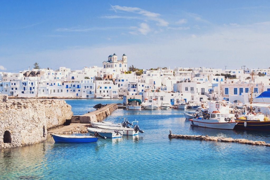 Paros island, Greece, best summer destinations