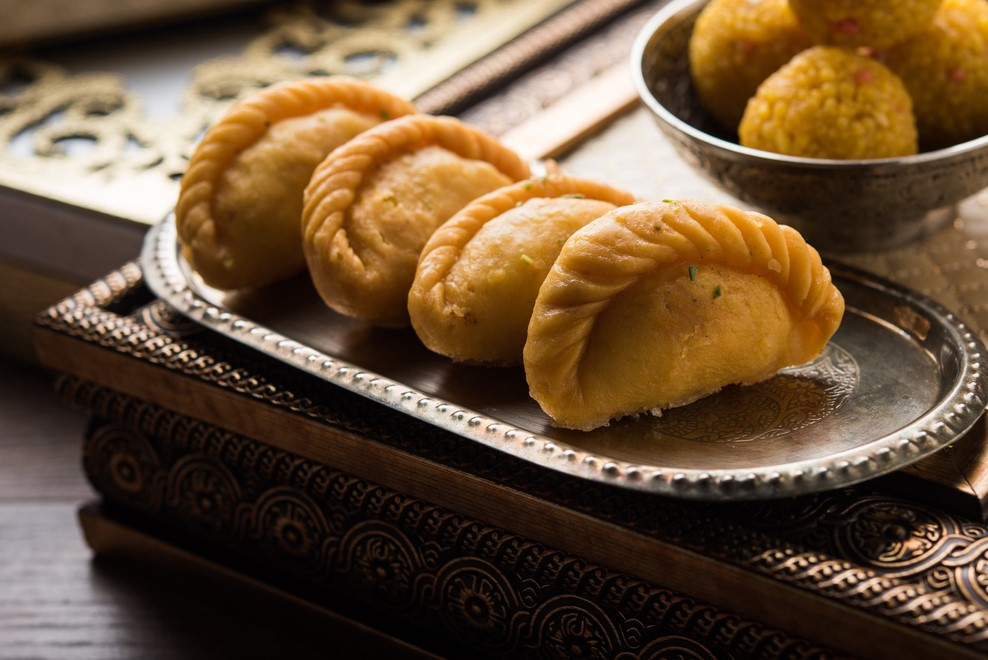Indian sweet Gujiya