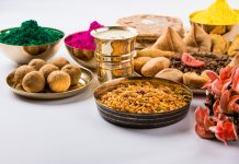 indian festival holi dishes