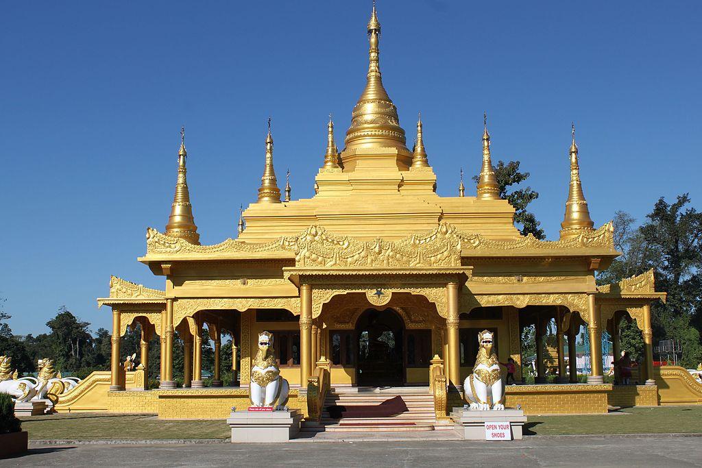 Golden Pagoda Arunachal Pradesh