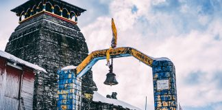 Tungnath temple in Chopta