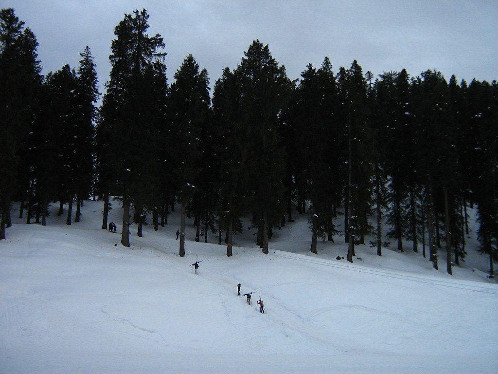 narkanda ski slope
