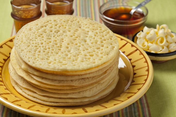 Bagrir Moroccan beghrir pancakes