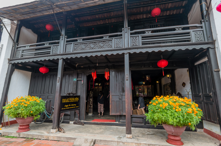 Old house of Phung Hung in Hoi An, Vietnam