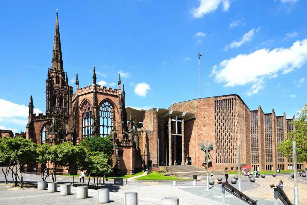 Coventry Cathedral famous buildings