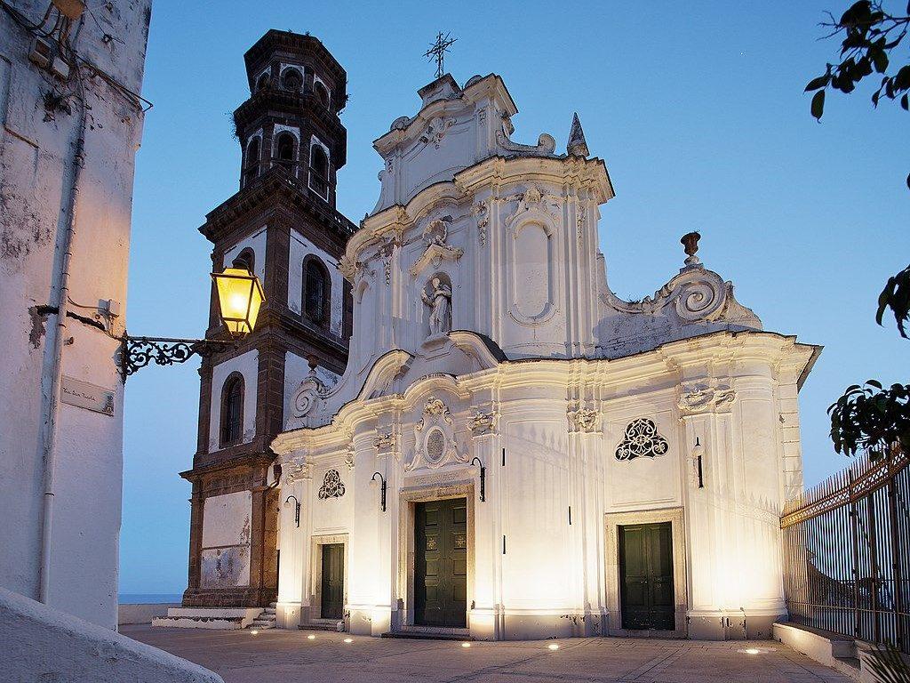 Atrani Santa Maria Maddalena tower