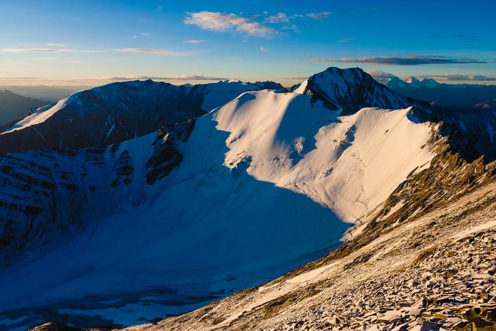 Stok Kangri Mountain, Ladakh, Himalayas