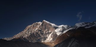 pandim summit from lamuneycamp Goechala trek India