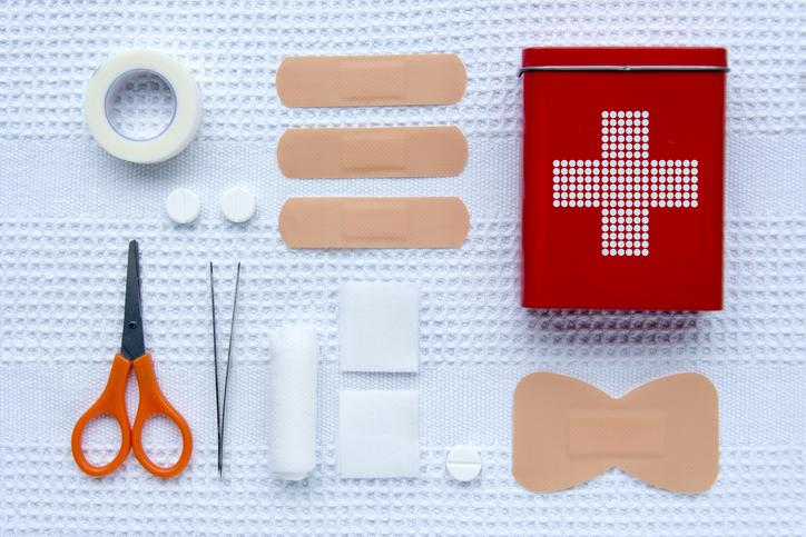First aid kit trekking essentials