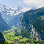 Visit The Valley of 72 Waterfalls in Switzerland: Lauterbrunnen
