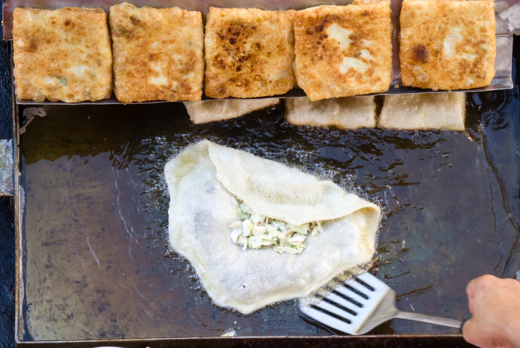 Martabak Jawa Stuffed Pancakes from around the world