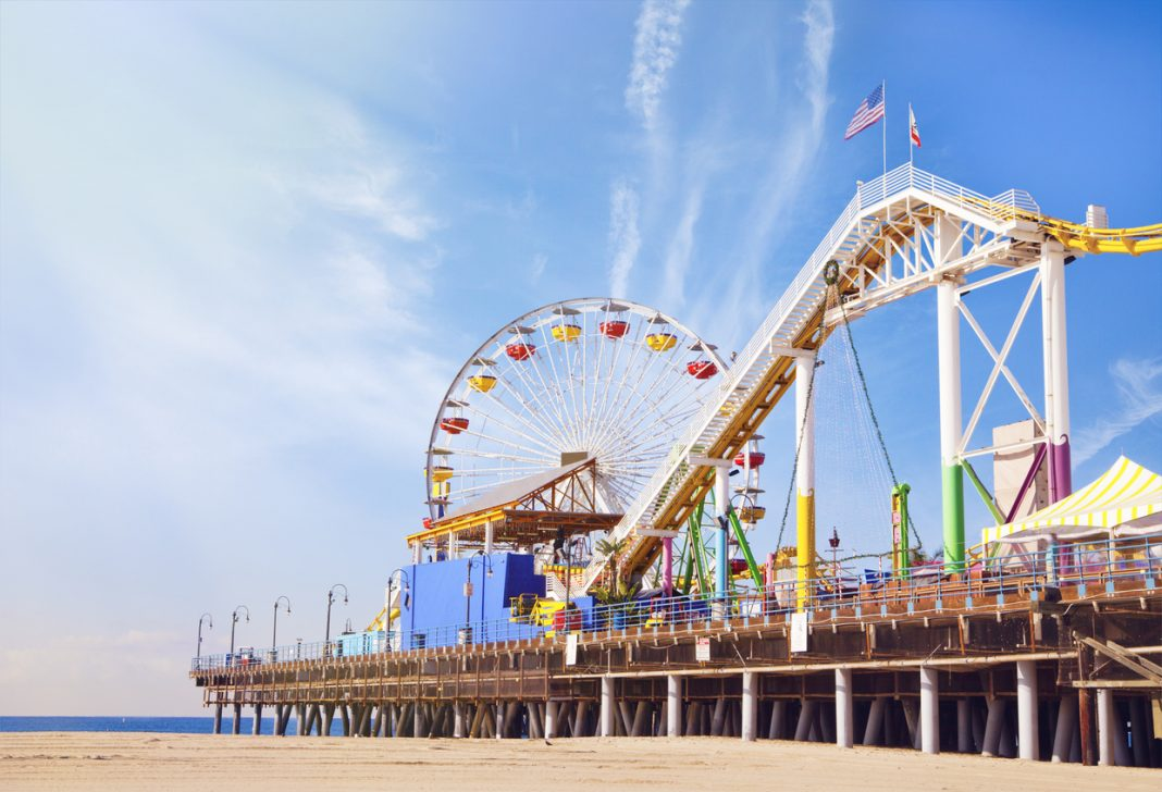theme parks in california santa monica pier