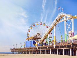 theme parks in california santa monica pier