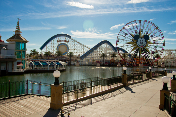 disneyland theme parks in california